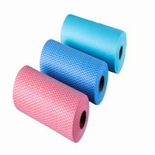 spunlace non woven fabric rolls for household wiper