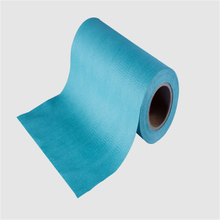 hospital use wiper woodpulp spunlace non woven fabric